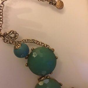 J. Crew Jewelry - J.CREW EUC BUBBLE STATEMENT NECKLACE - LITE GREEN